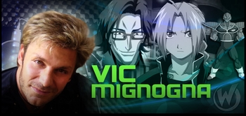 Vic Mignogna, <i>Edward Elric</i> from �Fullmetal Alchemist,� Joining the Wizard World Comic Con Tour!