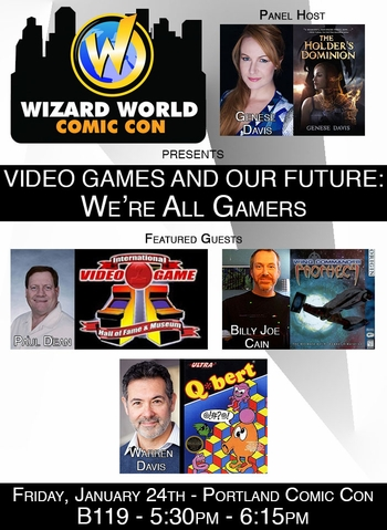 We�re All Gamers! Video Gaming Panel @ Wizard World Portland Comic Con