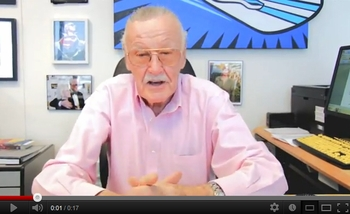 **VIDEO** Stan Lee <i>Ink-Fusion</i> Tour Hits Ohio Comic Con!