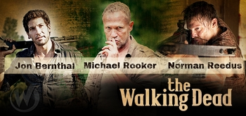 �Walking Dead� Trio Of Reedus, Berthal, Rooker Hit 2012 Wizard World Austin Comic Con!