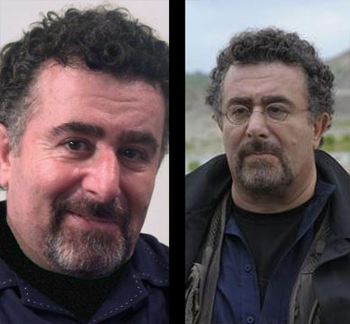 WAREHOUSE 13 STAR SAUL RUBINEK SNAGS �EM, BAGS �EM AND TAGS �EM AT BIG APPLE COMIC-CON!