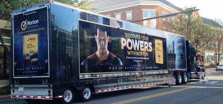 Welcome to Metropolis! Norton by Symantec Truck Pulls Into Philadelphia Comic Con This Weekend