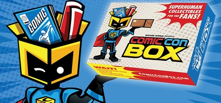 What�s In The Box? Wizard World, Inc. (OTCBB: WIZD) To Debut Premium Monthly Box Service ComicConBox�