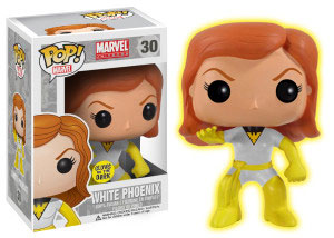 <i>White Phoenix</i> & <i>Glow-In-The-Dark Phoenix</i> Philadelphia Comic Con Exclusive Funko POP! Set of 2 By Conquest Comics