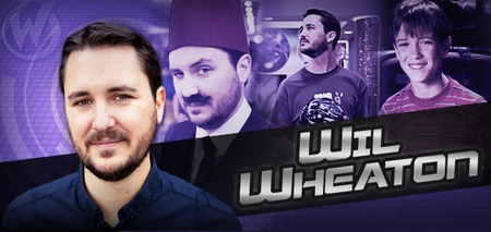 Wil Wheaton, <i>Wesley Crusher</i>, �Star Trek: The Next Generation,� Joins the Wizard World Tour!