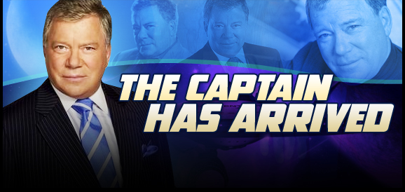 William Shatner, �<i>Captain Kirk</i>,� STAR TREK, Coming to Nashville, Tulsa, Reno, Madison, Indianapolis, Cleveland, Raleigh, Greenville and Des Moines!
