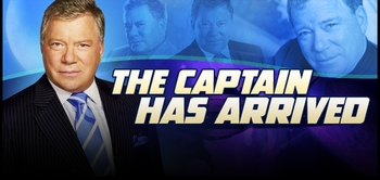 William Shatner, �<i>Captain Kirk</i>,� STAR TREK, Coming to Madison, Indianapolis, Cleveland, Greenville, Des Moines, San Francisco (San Jose) & Fort Lauderdale!