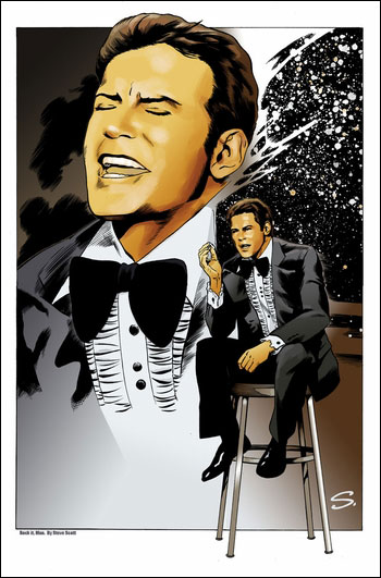 <i>William Shatner</i> Chicago Comic Con VIP Exclusive Lithograph by Steve Scott
