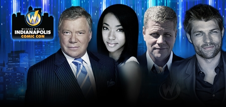 William Shatner, Liam McIntyre, WWE� Divas The Bella Twins™ Among Top Celebrities Scheduled To Attend Inaugural Wizard World Comic Con Indianapolis, February 13-14-15, 2015