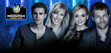 William Shatner, Paul Wesley, Liam McIntyre, Katie Cassidy, WWE� Divas The Bella Twins™ Among Top Celebrities Scheduled To Attend Inaugural Wizard World Indianapolis Comic Con, February 13-14-15, 2015