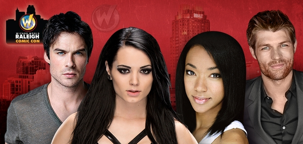Tyler Hoechlin, Liam McIntyre, Soneque Martin-Green Among Top Celebrities Scheduled To Attend Inaugural Wizard World Raleigh Comic Con, March 13-14-15