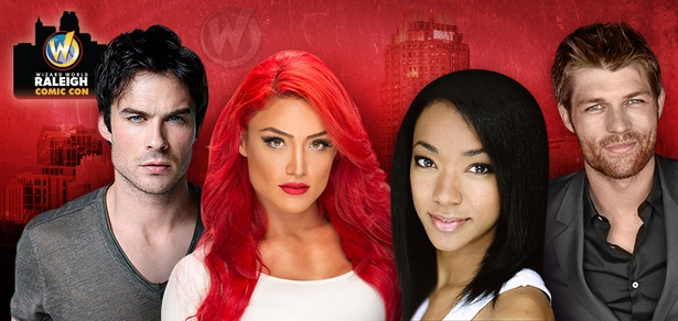 Tyler Hoechlin, Liam McIntyre, Soneque Martin-Green, WWE� Diva Eva Marie� Among Top Celebrities Scheduled To Attend Inaugural Wizard World Raleigh Comic Con, March 13-14-15