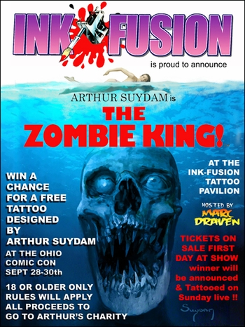 Win An Arthur Suydam Tattoo!