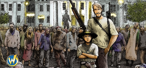 Wizard World Comic Con St. Louis Attendees to Receive 'The Walking Dead #1� Limited Edition Exclusive Variant Cover By Gerhard, May 22-24
