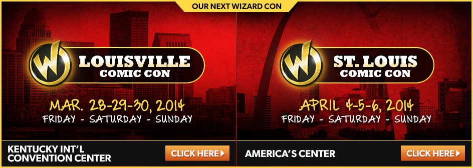 Louisville Comic Con March 28-29-30, 2014