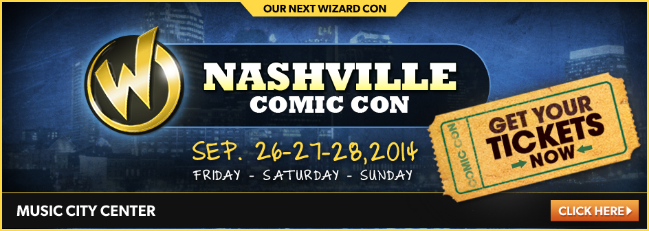 Nashville Comic Con September 26-27-28, 2014