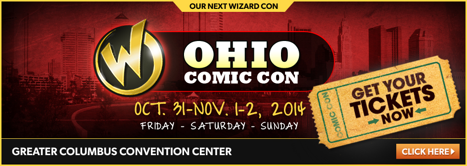 Ohio Comic Con October 31 - November 1-2, 2014