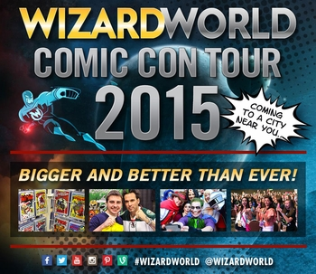 Wizard World To Expand Its Comic Con Schedule To A Minimum Of 22 Shows In 2015