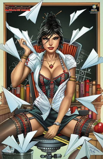 <i>Wonderland #13 Cover D</i> Chicago Comic Con Exclusive by Zenescope