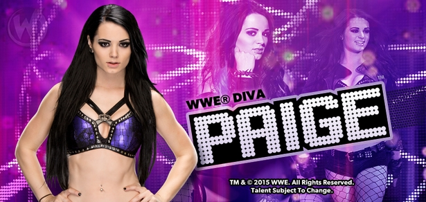 WWE� Diva Paige� Coming to Richmond!