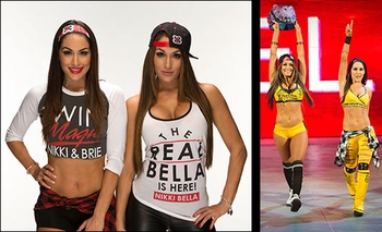 WWE� Divas <br>The Bella Twins�