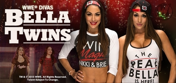 WWE� Divas The Bella Twins�, Nikki & Brie, Coming to Madison!