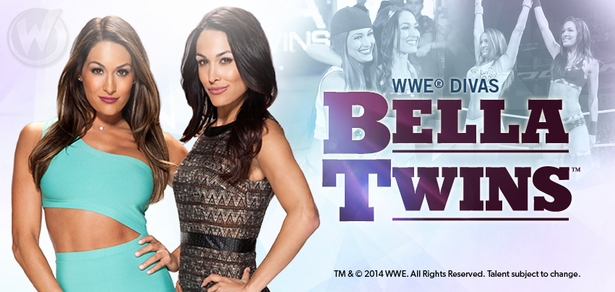 WWE� Divas The Bella Twins�, Nikki & Brie, Join the Wizard World Comic Con 2015 Tour!