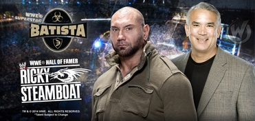 WWE� DUAL VIP Experience � Batista� (Dave Bautista) & Ricky �The Dragon� Steamboat� @ Richmond Comic Con 2014