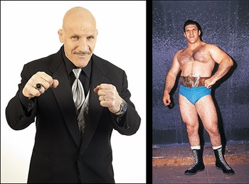 WWE� Hall of Famer <br>Bruno Sammartino�