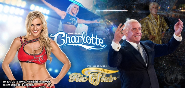WWE� Hall of Famer Ric Flair� & Diva Charlotte� Coming to New Orleans!