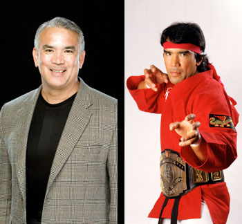 WWE� Hall of Famer <br>Ricky �The Dragon� Steamboat�