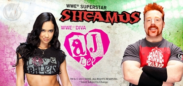 WWE� DUAL VIP Experience � AJ Lee� & Sheamus� @ Ohio Comic Con 2013
