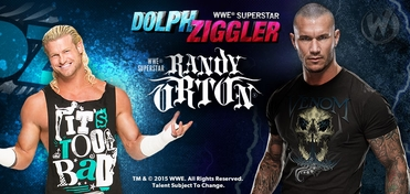 WWE� Superstars Randy Orton� & Dolph Ziggler� Friday DUAL VIP Experience @ Wizard World Comic Con Philadelphia 2015