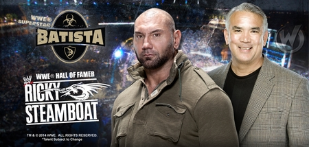 WWE� Superstar Batista� and WWE� Hall of Famer Ricky �The Dragon� Steamboat� To Attend Wizard World Richmond Comic Con, Saturday, September 13