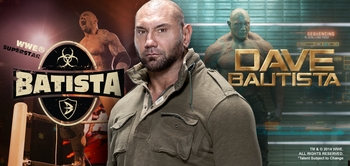 WWE� Superstar Batista� (Dave Bautista) & <i>Drax</i>, GUARDIANS OF THE GALAXY, Coming to Chicago Comic Con!
