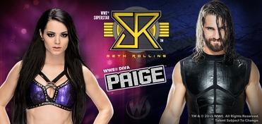 WWE� Superstar Seth Rollins� & WWE� Diva Paige� DUAL VIP Experience @ Wizard World Comic Con St. Louis 2015