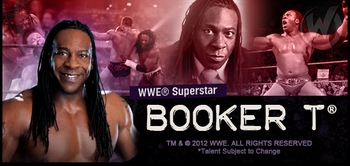 WWE� Superstar Booker T� Coming to Chicago Comic Con!