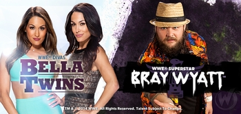 WWE� Superstar Bray Wyatt�, Divas The Bella Twins� Added To Wizard World San Antonio Comic Con, Sunday, August 3