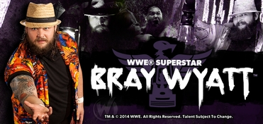 WWE� Superstar Bray Wyatt� Sunday VIP Experience @ San Antonio Comic Con 2014