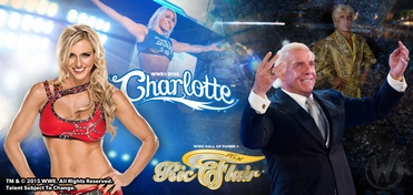 WWE� Hall of Famer Ric Flair� & Diva Charlotte� DUAL VIP Experience @ Wizard World Comic Con New Orleans 2016
