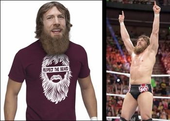 WWE� Superstar <br>Daniel Bryan�