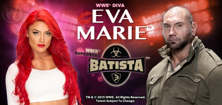 WWE� Superstar Dave Batista�, Diva Eva Marie� To Appear During 2015 Wizard World Comic Con Sacramento