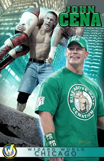 <i>WWE� Superstar John Cena�</i> Chicago Comic Con VIP Exclusive Lithograph by Greg Horn