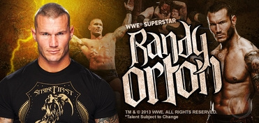 WWE� Superstar Randy Orton� VIP Experience @ St. Louis Comic Con 2013