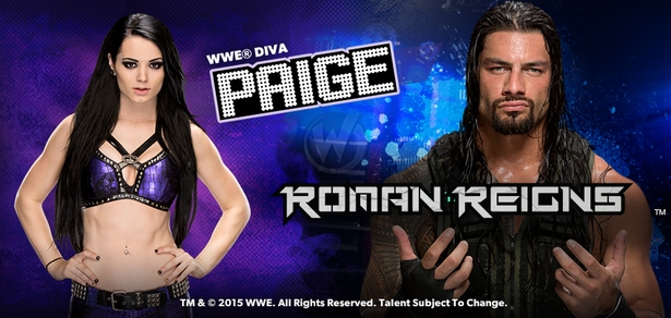 <i>WWE� Superstar Roman Reigns� & Diva Paige�</i> Coming to Wizard World Las Vegas Comic Con, Saturday, April 25th!