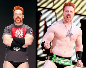 WWE� Superstar <br>Sheamus�