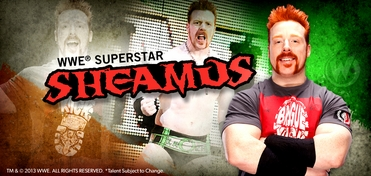 WWE� Superstar Sheamus� VIP Experience @ Ohio Comic Con 2013