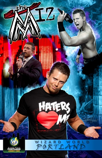 <i>WWE� Superstar The Miz�</i> Portland Comic Con VIP Exclusive Lithograph by Greg Horn