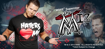 WWE� Superstar The Miz� To Appear At 2013 Wizard World Portland Comic Con!