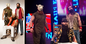 WWE� Superstars <br>The Wyatt Family�
